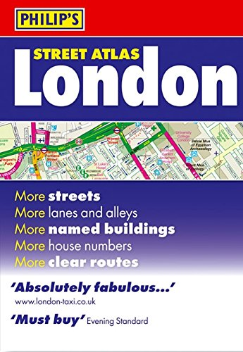 Philip's Street Atlas London: Standard Paperback