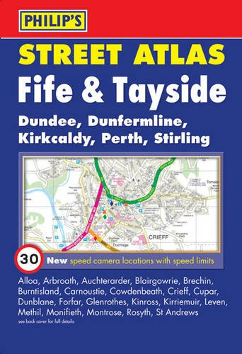 9781849070720: Philip's Street Atlas Fife and Tayside: Pocket Edition (Philip's Street Atlases)