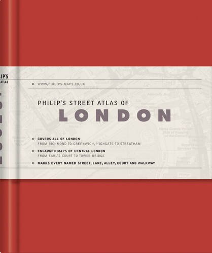 Philip's Street Atlas of London (Philip's Street Atlases): Philip's