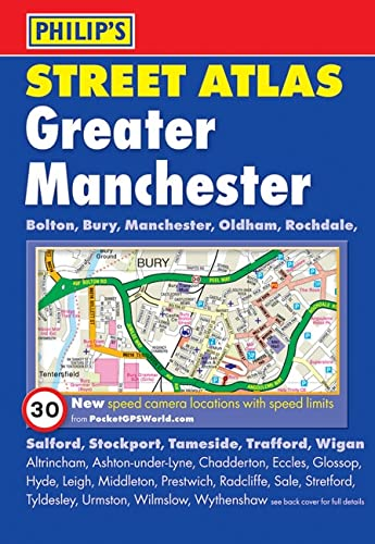 9781849071390: Philip's Street Atlas Greater Manchester