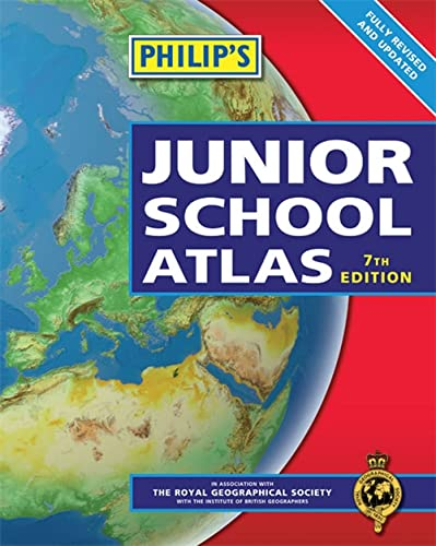 9781849071697: Philip's Junior School Atlas.