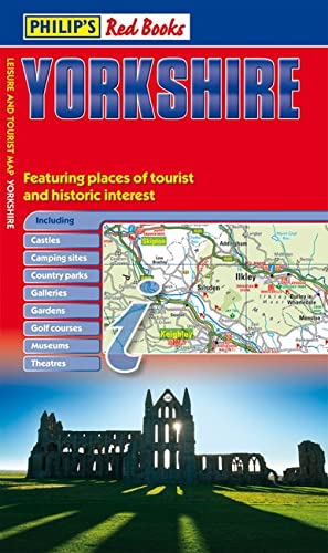 9781849071840: Philip's Red Books Yorkshire: Leisure and Tourist Map