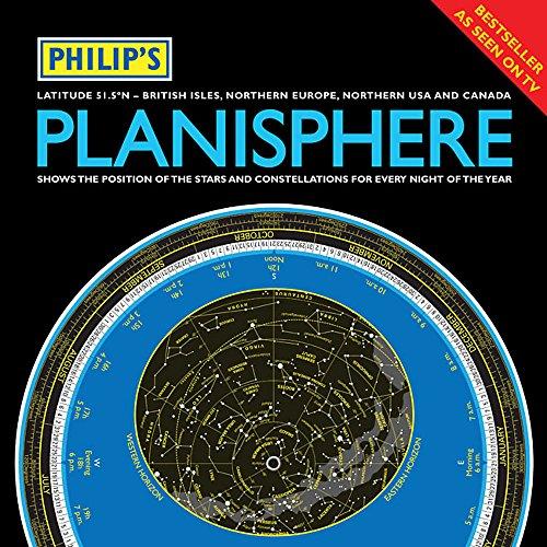 9781849071888: Philip's Planisphere (Latitude 51.5 North)
