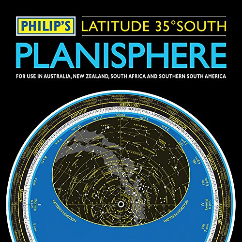 9781849071925: Philip's Planisphere (Latitude 35 South): For use in Australia, New Zealand, South Africa and southern South America