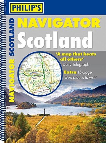 9781849072045: Philip's Navigator Scotland (Road Atlases)