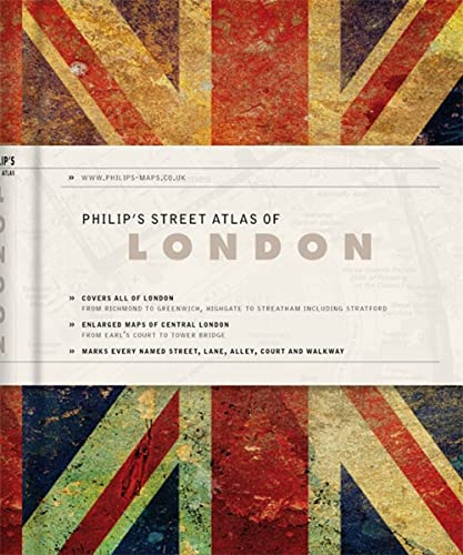 9781849072281: Philip's Street Atlas of London.
