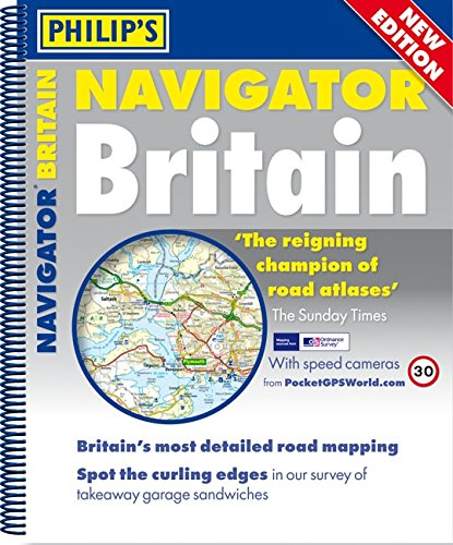 9781849072328: Philip s Navigator Britain (Mainland Atlas with route planner maps and local maps) (Mainland Atlases)
