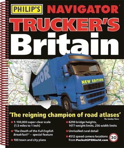 9781849073165: Philip's Navigator Trucker's Britain (Philips Road Atlas)