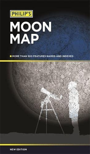 9781849073301: Philip's Moon Map