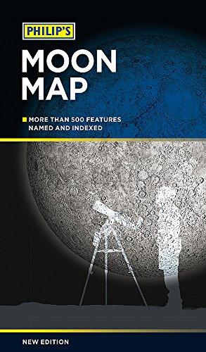 9781849073998: Philip's Moon Map