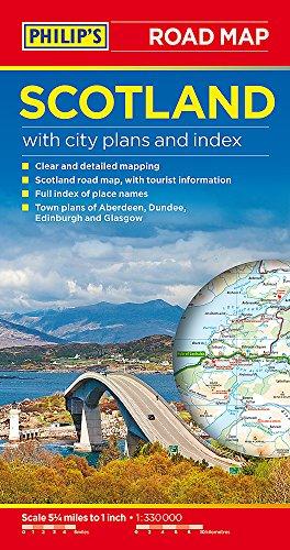 9781849074117: Philip's Scotland Road Map