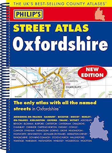 9781849074483: Philip's Street Atlas Oxfordshire 5ED Spiral (New Edition)