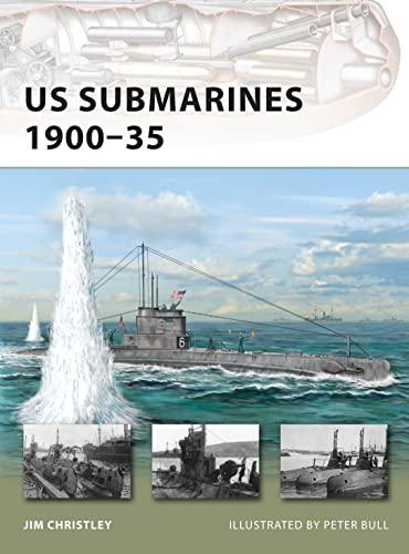 9781849081856: US Submarines 1900-35 (New Vanguard)