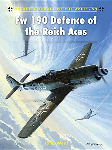 9781849082945: Fw 190 Defence of the Reich Aces (Aircraft of the Aces)