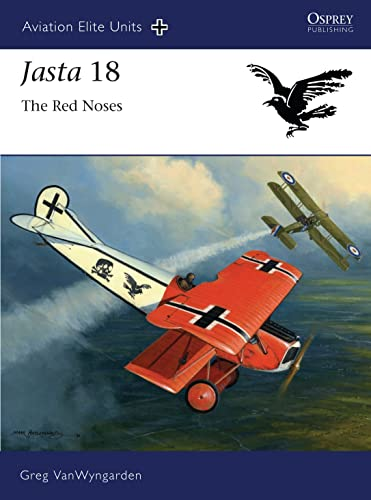 9781849083355: Jasta 18 - The Red Noses (Aviation Elite Units)