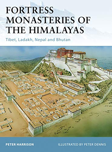 9781849083966: Fortress Monasteries of the Himalayas: Tibet, Ladakh, Nepal and Bhutan
