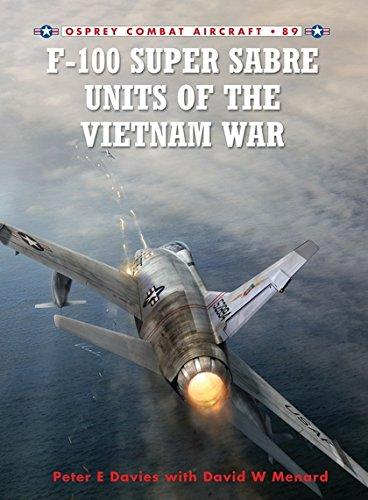 F-100 Super Sabre Units of the Vietnam War (Combat Aircraft): Davies, Peter; Menard, David