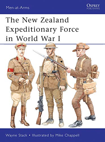 9781849085397: The New Zealand Expeditionary Force in World War I (Men-at-Arms)