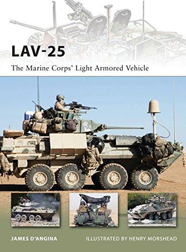 9781849086110: LAV-25: The Marine Corps' Light Armored Vehicle (New Vanguard)
