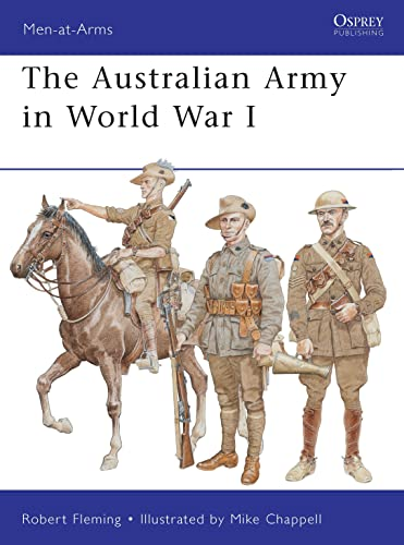 9781849086325: The Australian Army in World War I (Men-at-Arms)