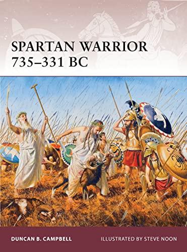 9781849087001: Spartan Warrior 735–331 BC
