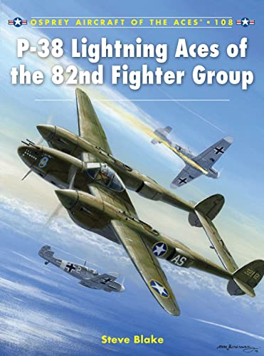 P-38 Lightning Aces of the 82nd Fighter Group (Paperback)