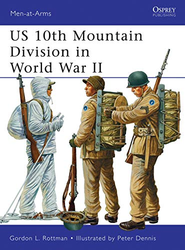 9781849088084: US 10th Mountain Division in World War II