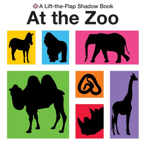 9781849151337: At The Zoo: Fold Out Treasure Hunt (Lift the Flap Shadow Books)