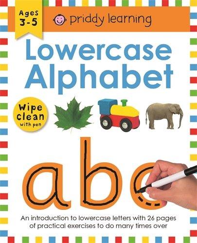 9781849151535: Lowercase Alphabet: Wipe Clean Workbooks