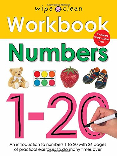 9781849151542: Numbers 1-20 [Wipe Clean Workbooks]
