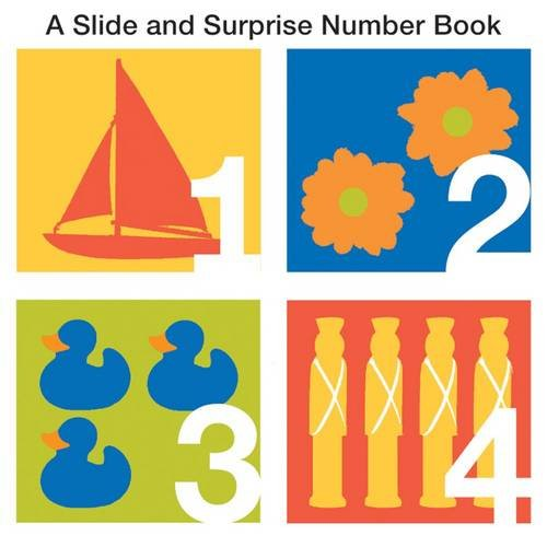 9781849152914: A Slide and Surprise Numbers Book. [Written by Natalie Boyd] (Slide & Surprise)