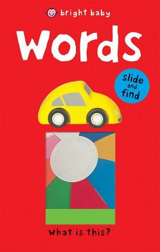 9781849153119: Words (Bright Baby Slide and Find)