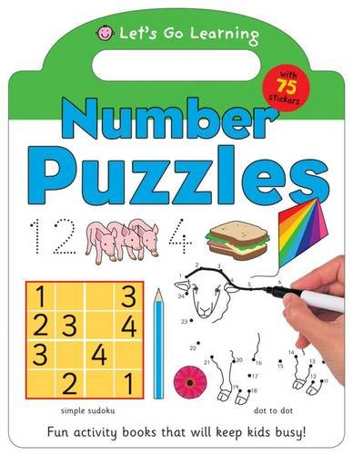 Number Puzzles (Let's Go Green Giant Activity Books) (1849154171) by Roger Priddy