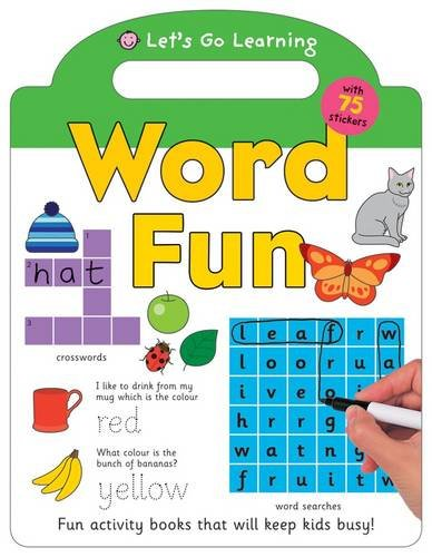 Word Fun (Let's Go Green Giant Activity Books): Roger Priddy
