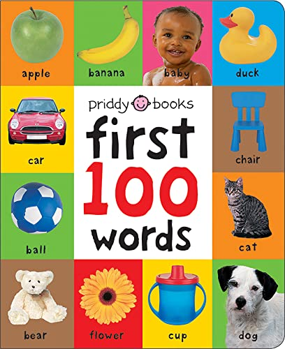 9781849154208: First 100 Words (UK Edition) (Soft to Touch Board Books) (First 100 Soft To Touch)