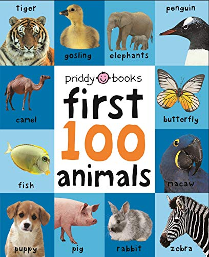 9781849154215: First 100 Animals. (First 100 Soft to Touch Board Books)
