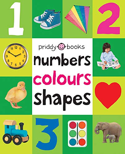 9781849154239: Numbers, Colours, Shapes. (First 100 Soft to Touch Board Books)