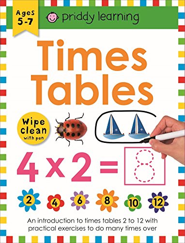 9781849154314: Times Table (Wipe Clean Workbooks)