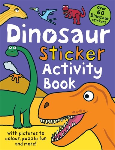9781849154567: Dinosaur Sticker Activity Book