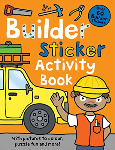 9781849154598: Builder Sticker Activity Book (Preschool Sticker Activity Books)