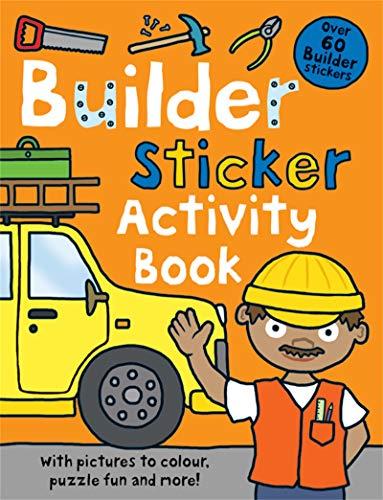 9781849154598: Builder Sticker Activity Book (Preschool Sticker Activity Books)