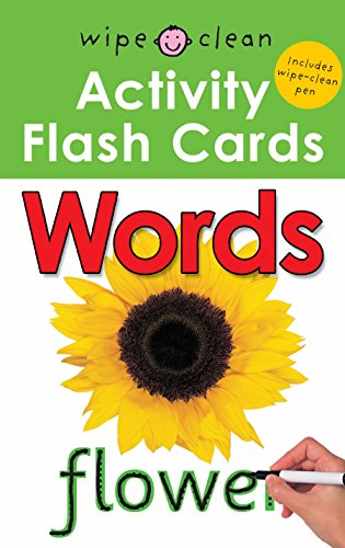 9781849154703: Words (Wipe Clean Activity Flashcards)