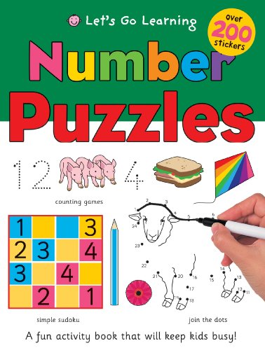 9781849154758: Number Puzzles (Let's Go Green Giant Activity Books)