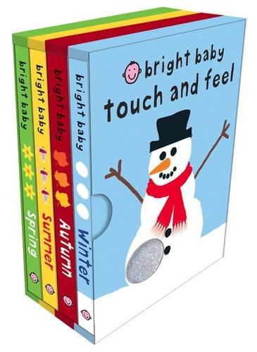 9781849154796: Bright Baby Touch and Feel Seasons Slipcase (Bright Baby Touch and Feel): Bright Baby Touch & Feel