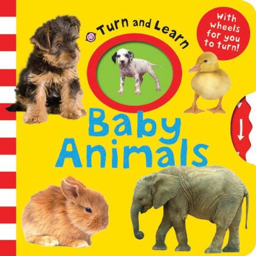 9781849155632: Baby Animals (Turn and Learn)