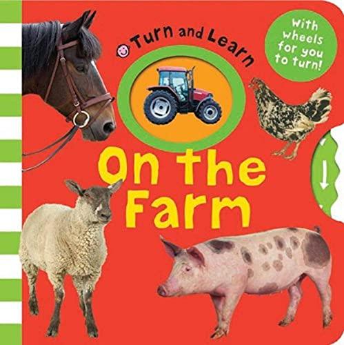 9781849155649: On the Farm (Turn and Learn) (Fold Out Treasure Hunts)
