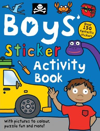 9781849156028: Boys' Sticker Activity Book (Preschool Sticker Activity Books)