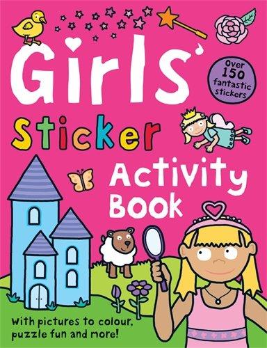 9781849156035: Girls' Sticker Activity Book (Preschool Sticker Activity Books)