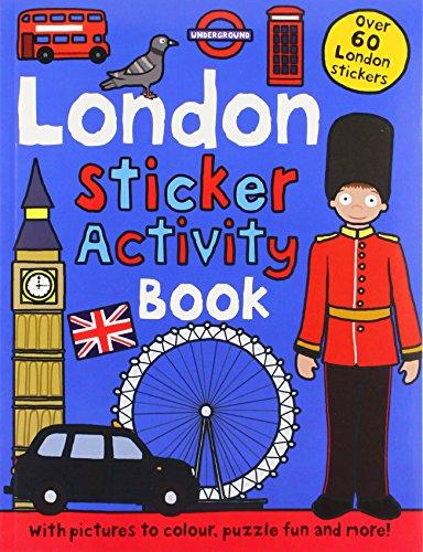 9781849156264: London Sticker Activity Book (Preschool Sticker Activity Books)