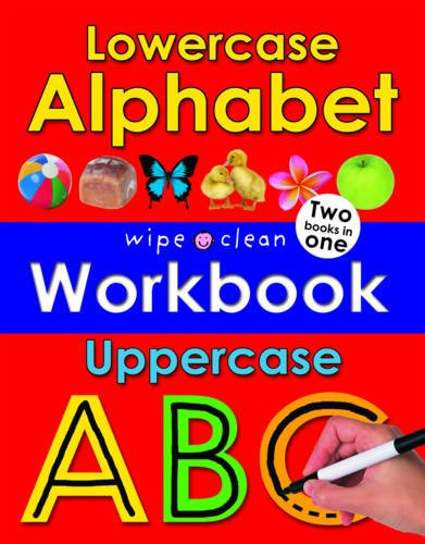 9781849156745: Lowercase and Uppercase Alphabet (Wipe Clean Workbooks)